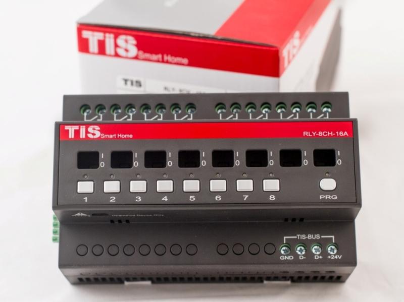رله 8 کانال 10 آمپر کان اتوماسیون هوشمند TIS